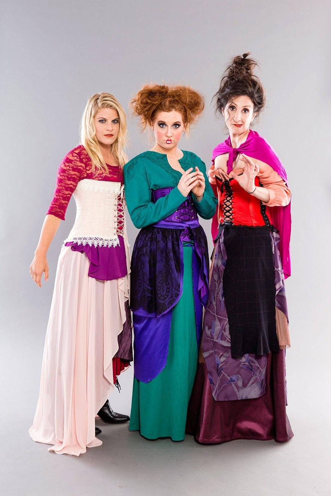 Idée de déguisement de groupe: les sœurs de Hocus Pocus.