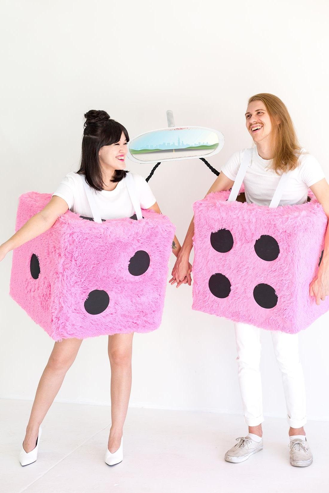 Costume Halloween humoristique.
