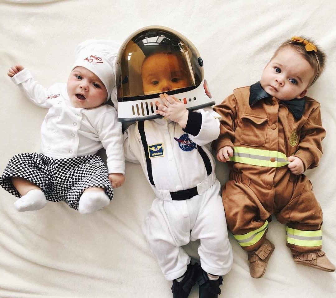 Costumes pour bébé adorables et créatifs.