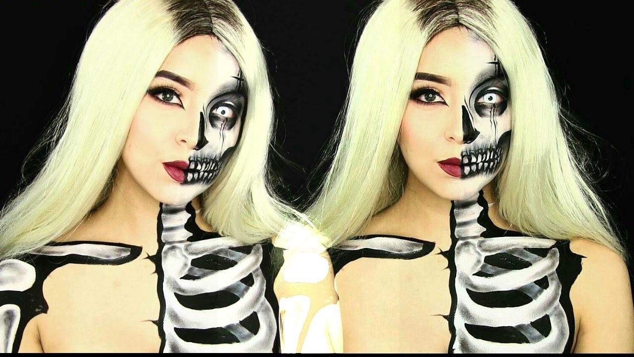 Idée de déguisement effrayant d'Halloween.