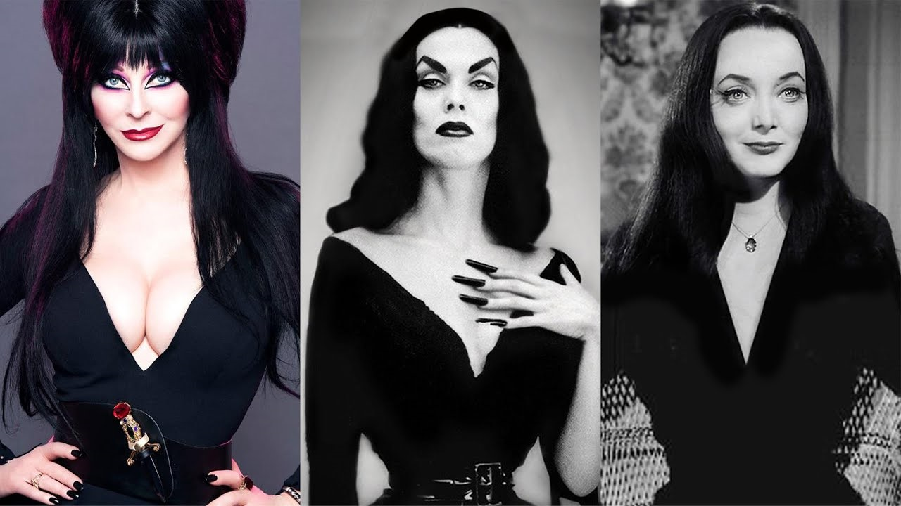 Déguisement Morticia Addams.