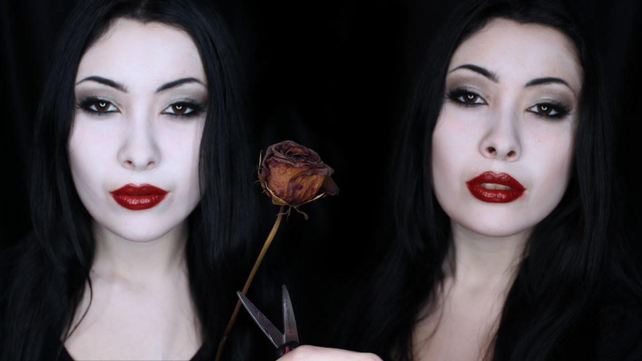 Idée maquillage d'Halloween.