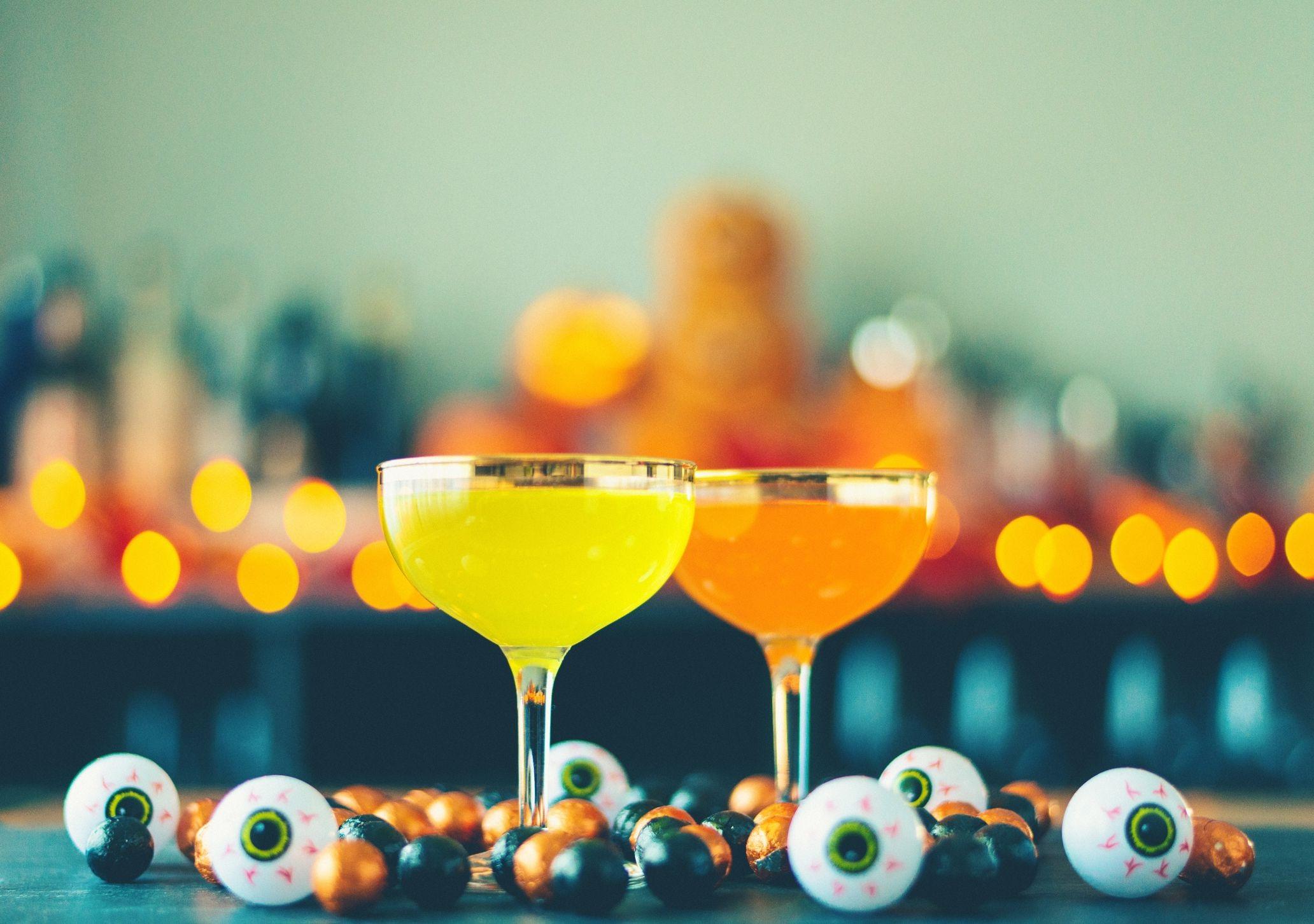 Préparez des cocktails effrayantes pour vos invités.