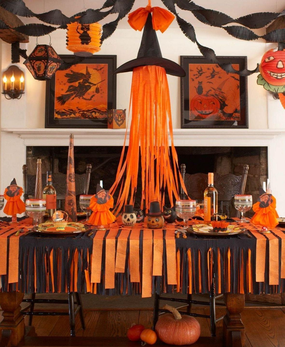 Faites toujour attention à la décoration de votre fête.