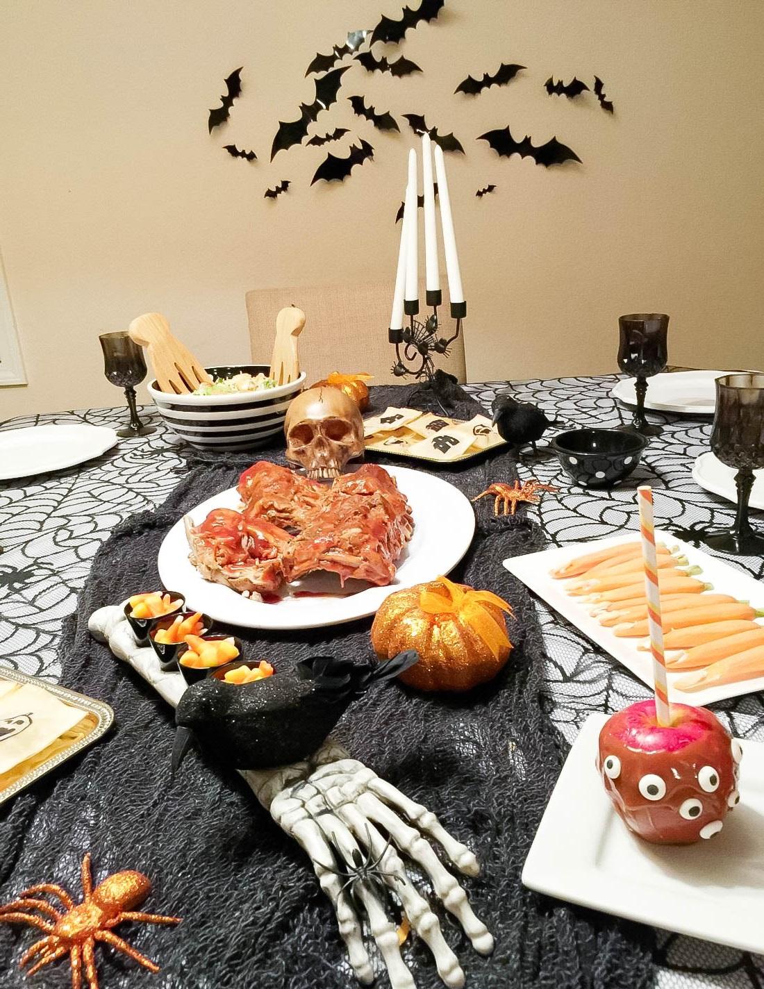 Recettes effrayantes et rigolotes pour Halloween.