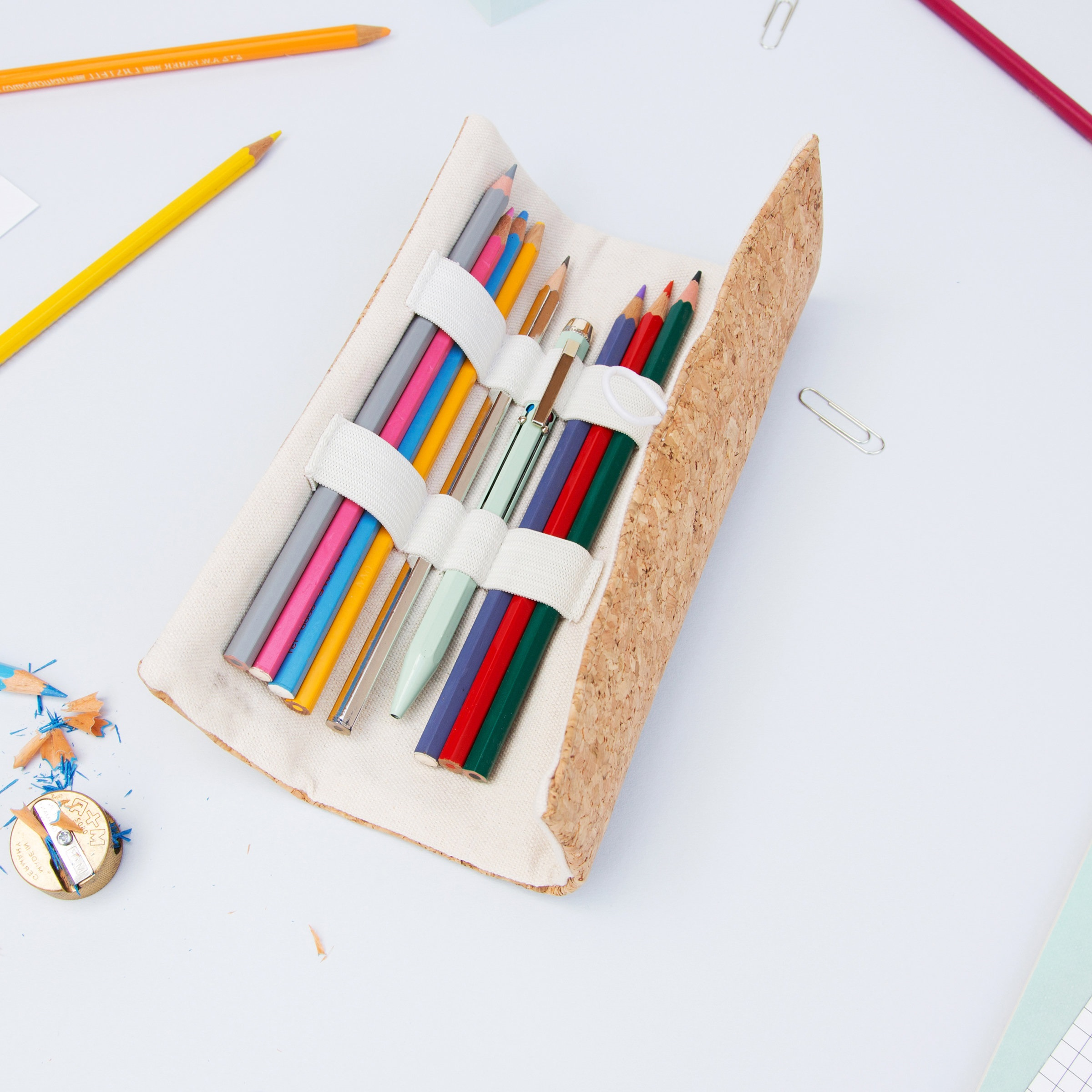 Idée de trousse pour l'école bricolage.