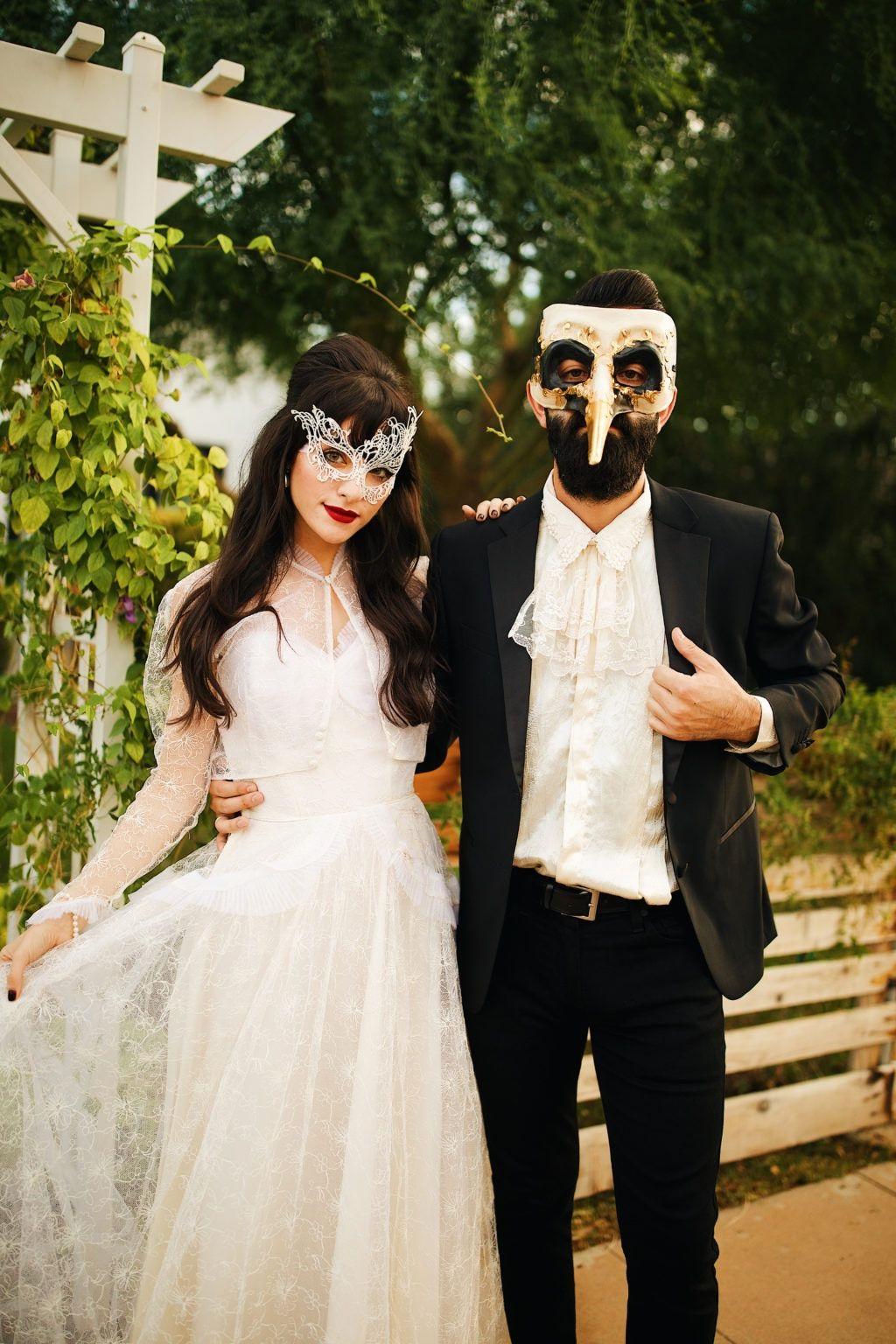 Bal masqué élégant.