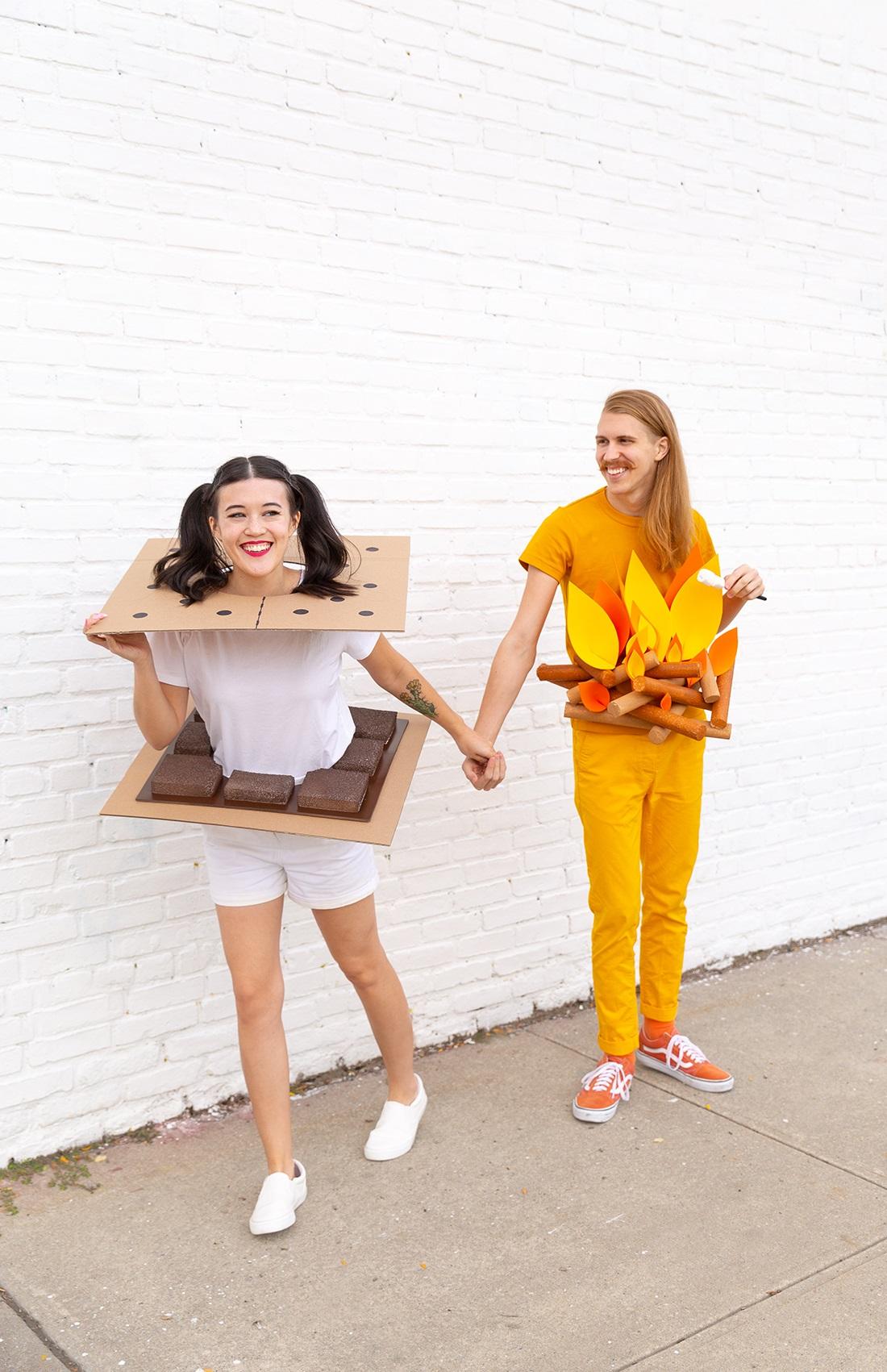 Costume d'Halloween pour vous et votre partenaire.