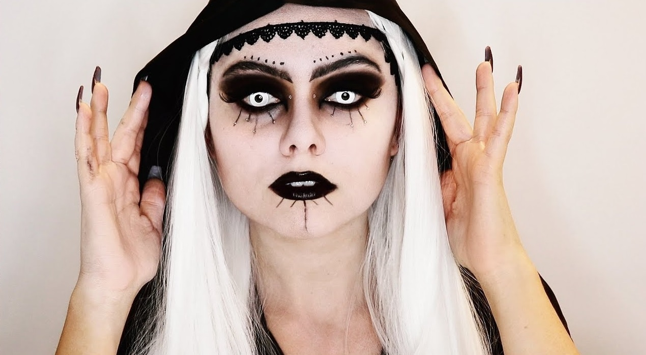 Superbe déguisement d'Halloween.