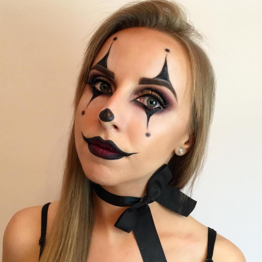 Déguisement de clown pour Halloween.