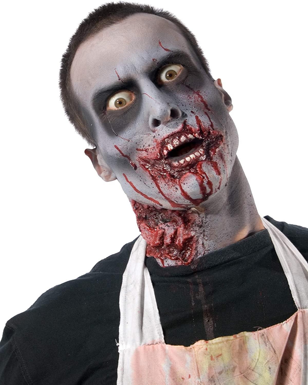 Maquillage zombie.