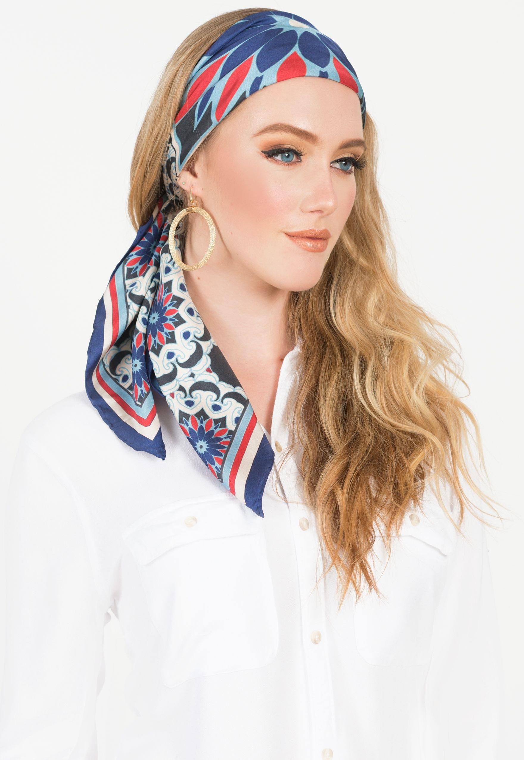 Voici comment mettre un foulard.