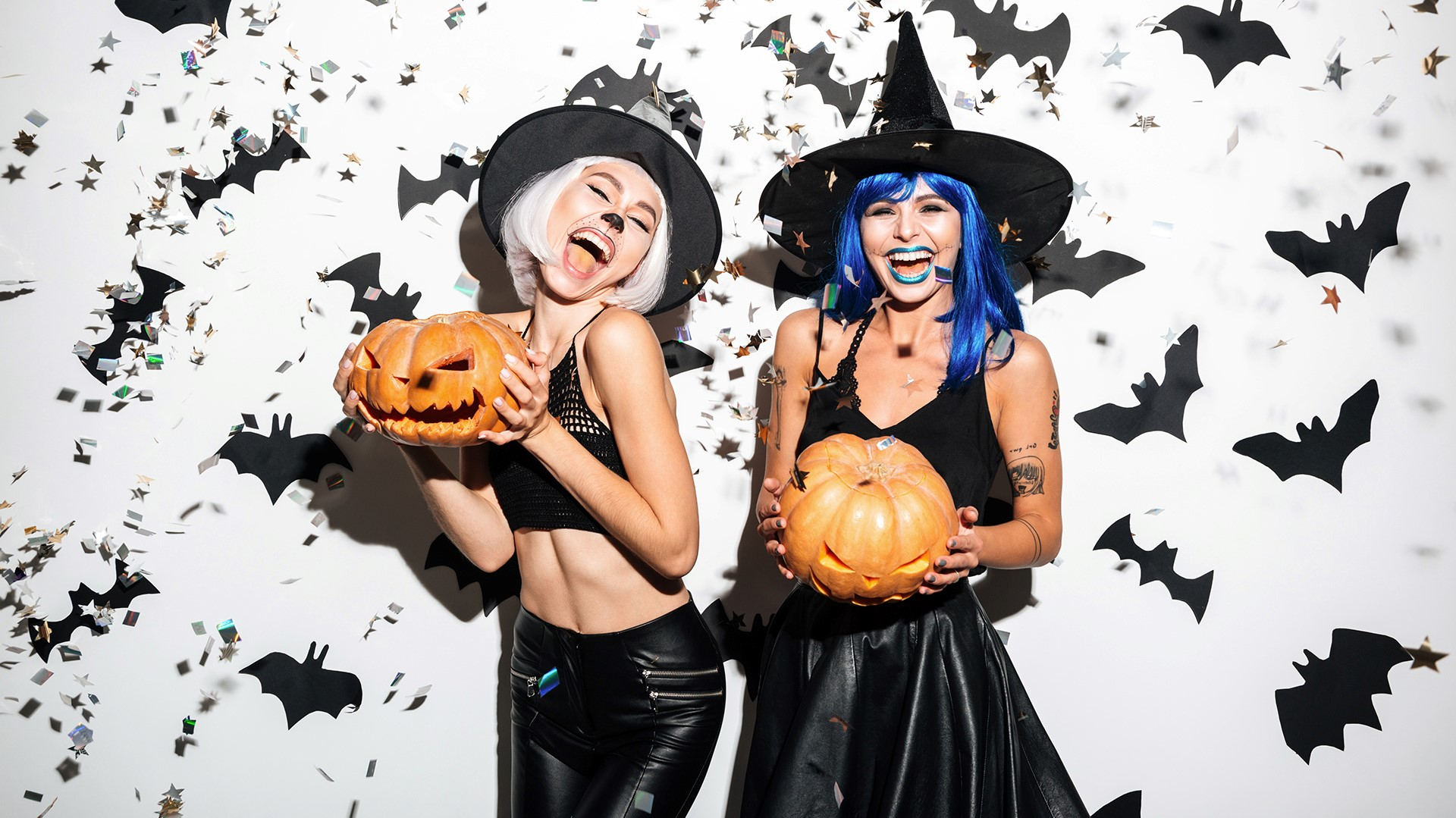Modèles de déguisement Halloween fait maison.