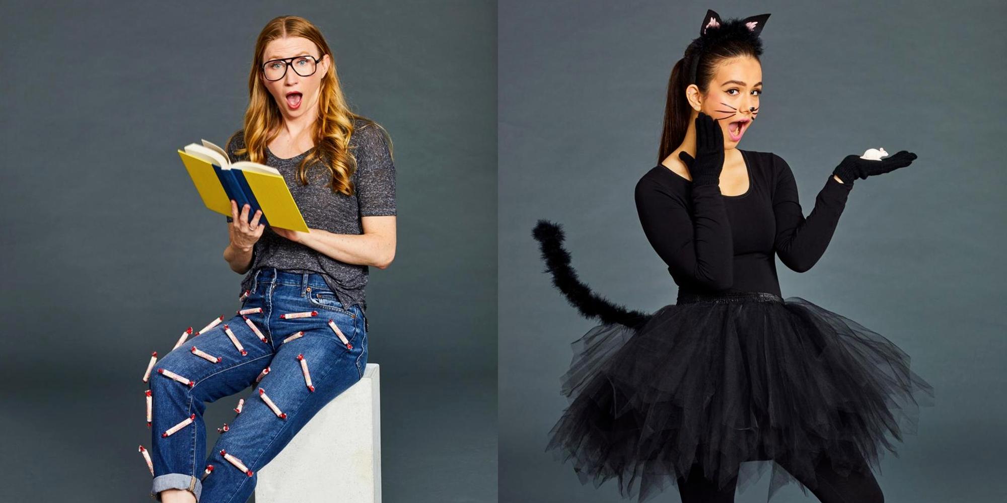 15 Modeles De Deguisement Halloween Fait Maison Diy Halloween Zenidees