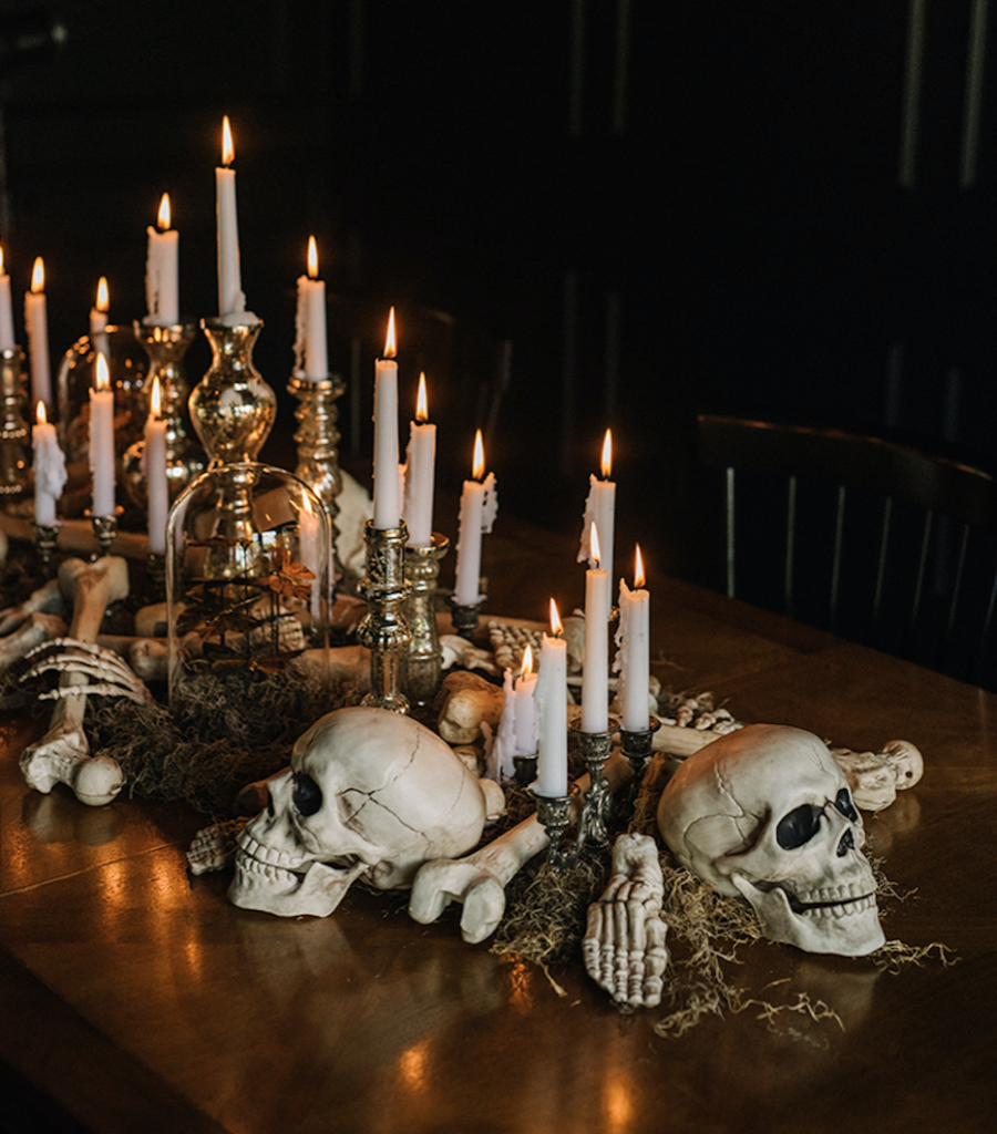Idée déco pour votre soirée Halloween.