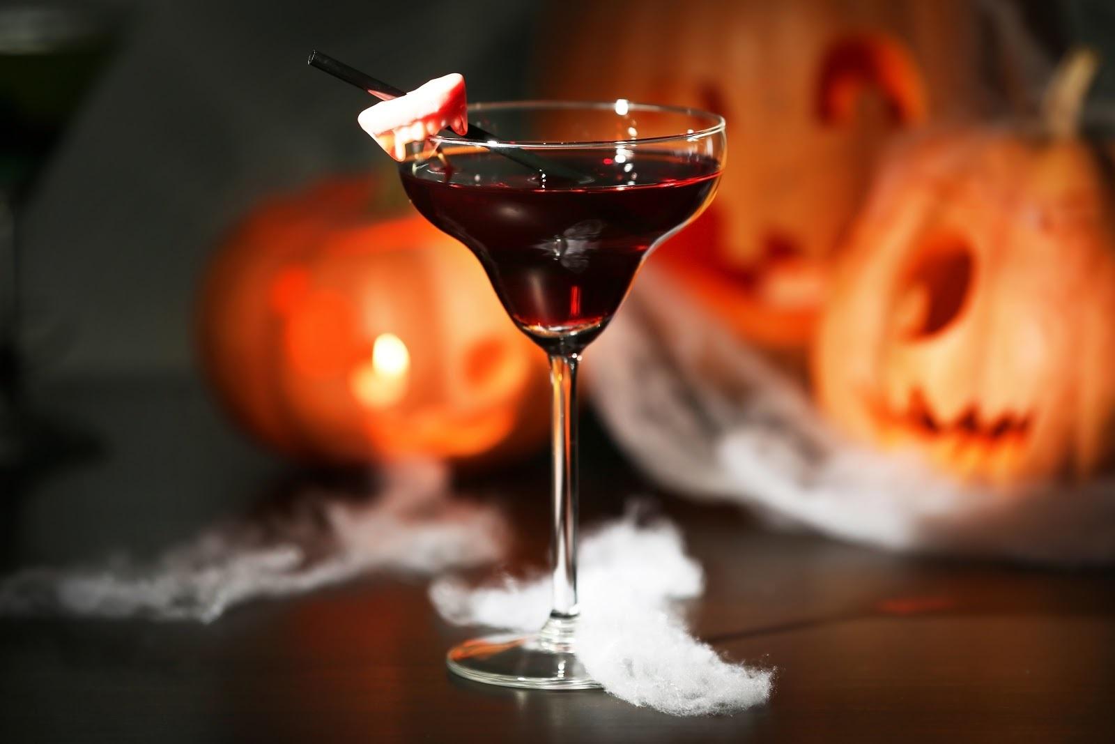 Cocktail effrayant pour la fête de 31 octobre.