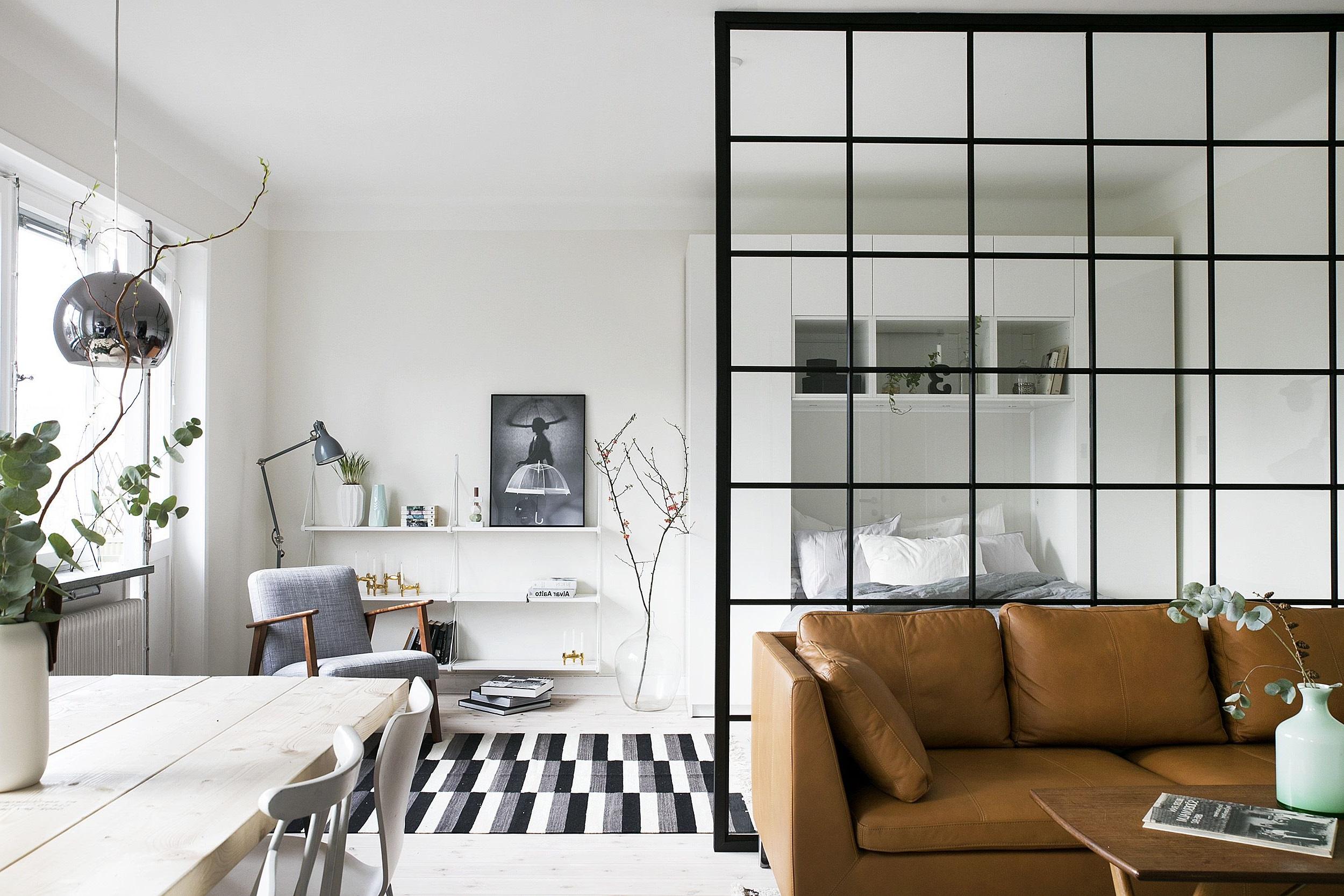 Petit appartement bien organisé.