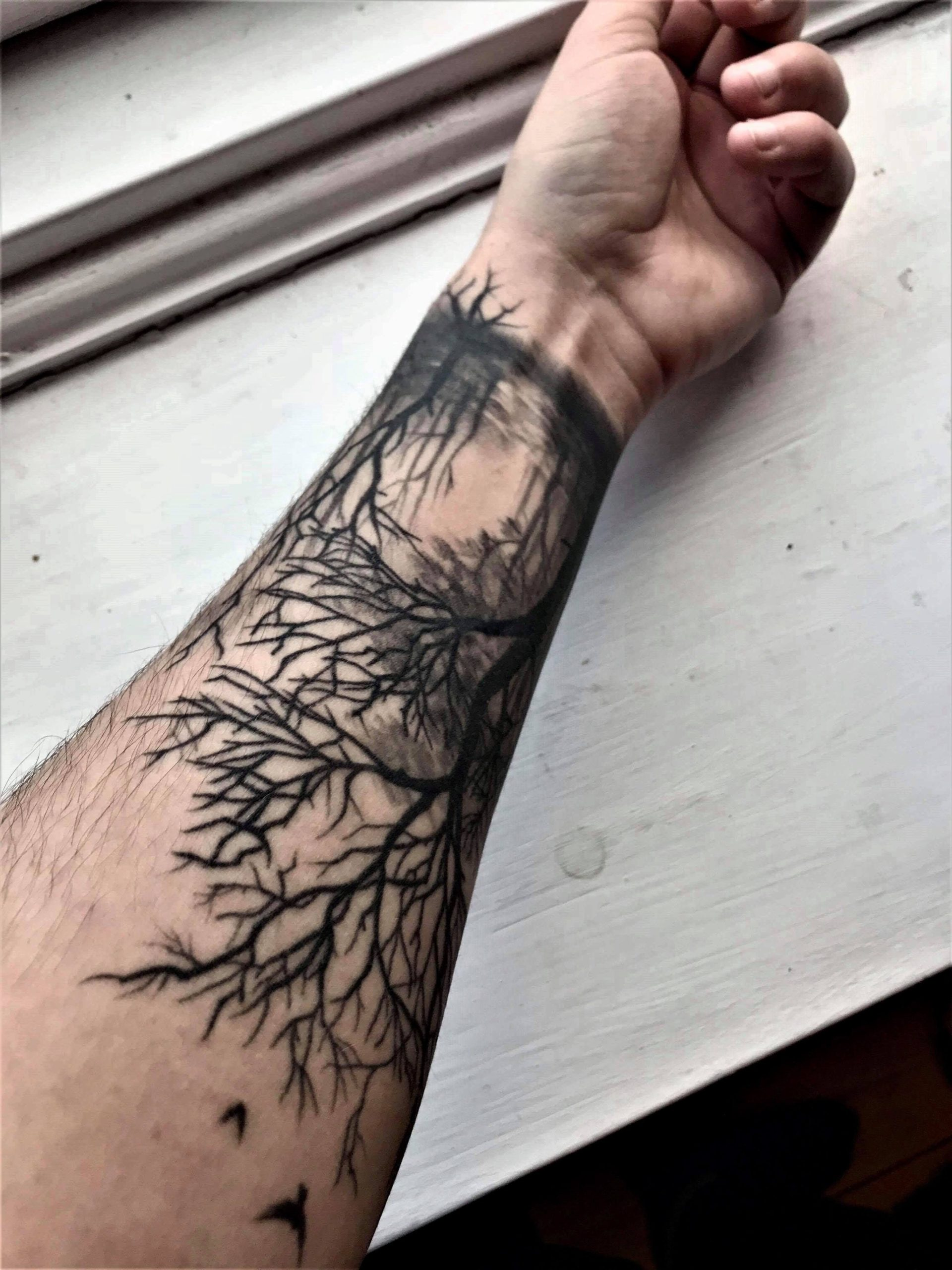Tattoo arbre exceptionnel.
