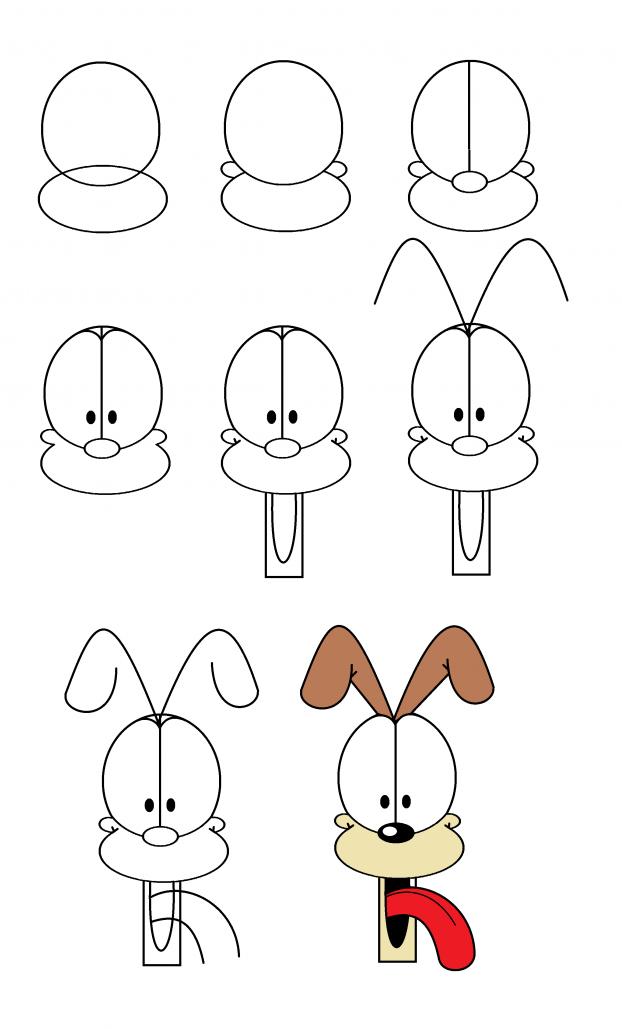 Idée de dessin facile à recréer.