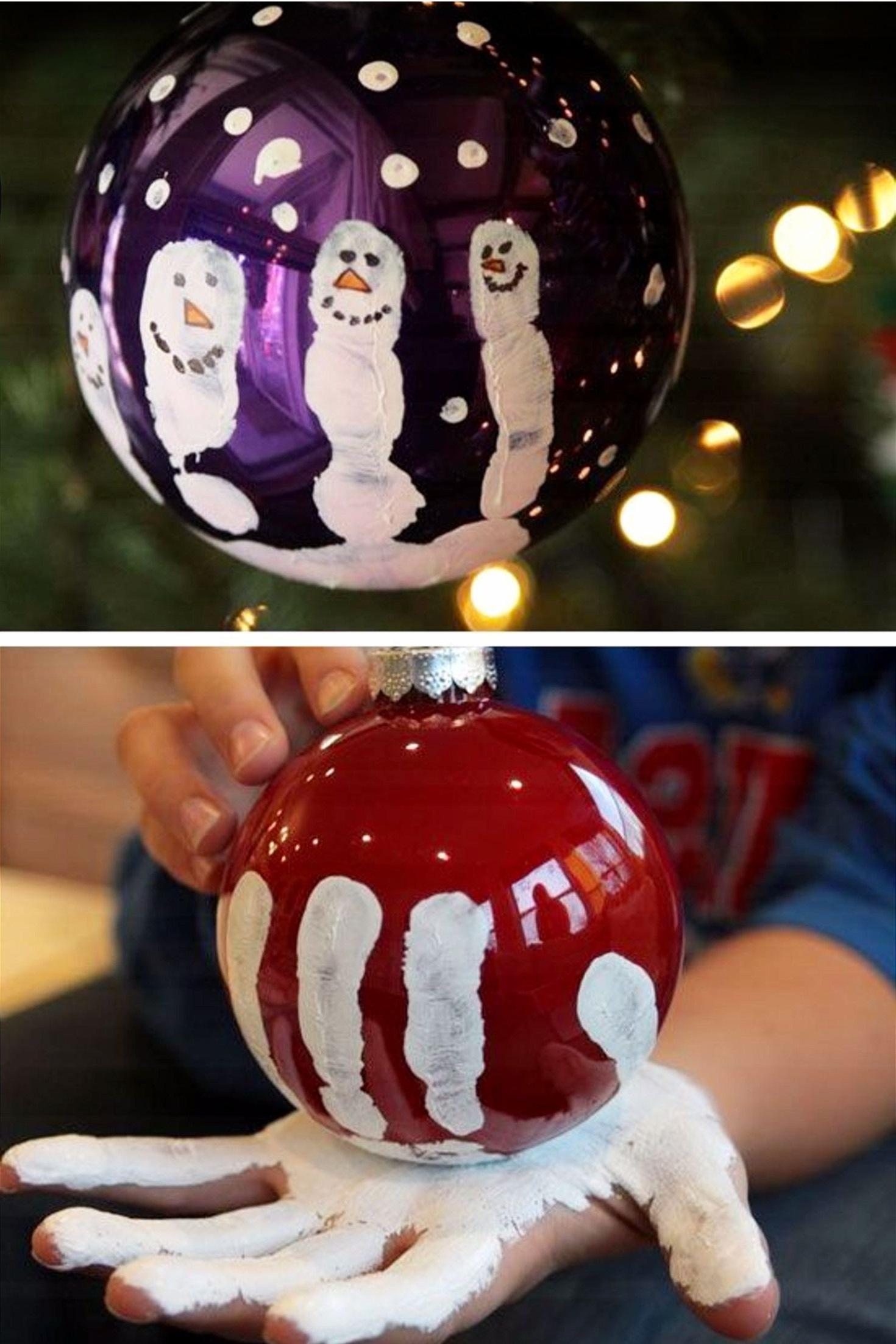 Activité manuelle de Noël.