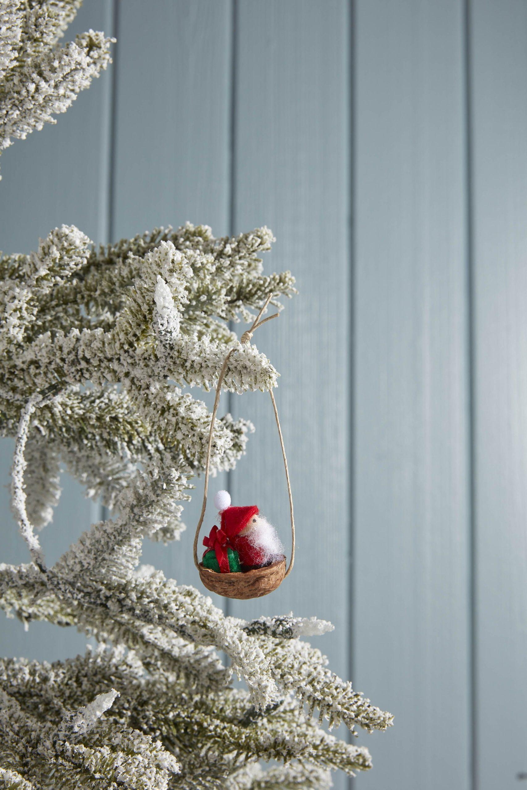 Mini ornement Père Noël.