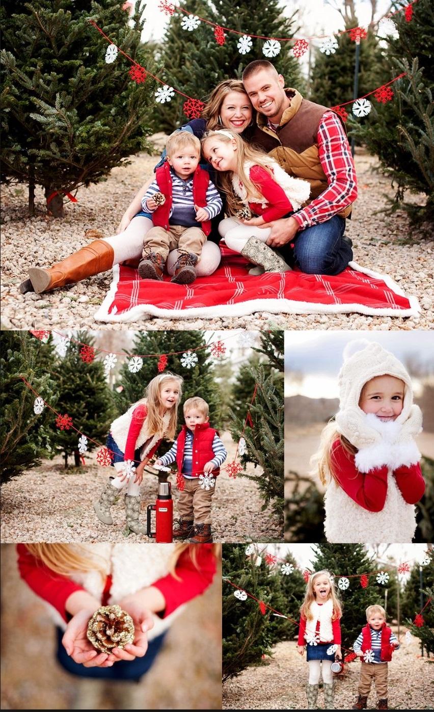 Idées de carte de Noël personnalisée avec photo.