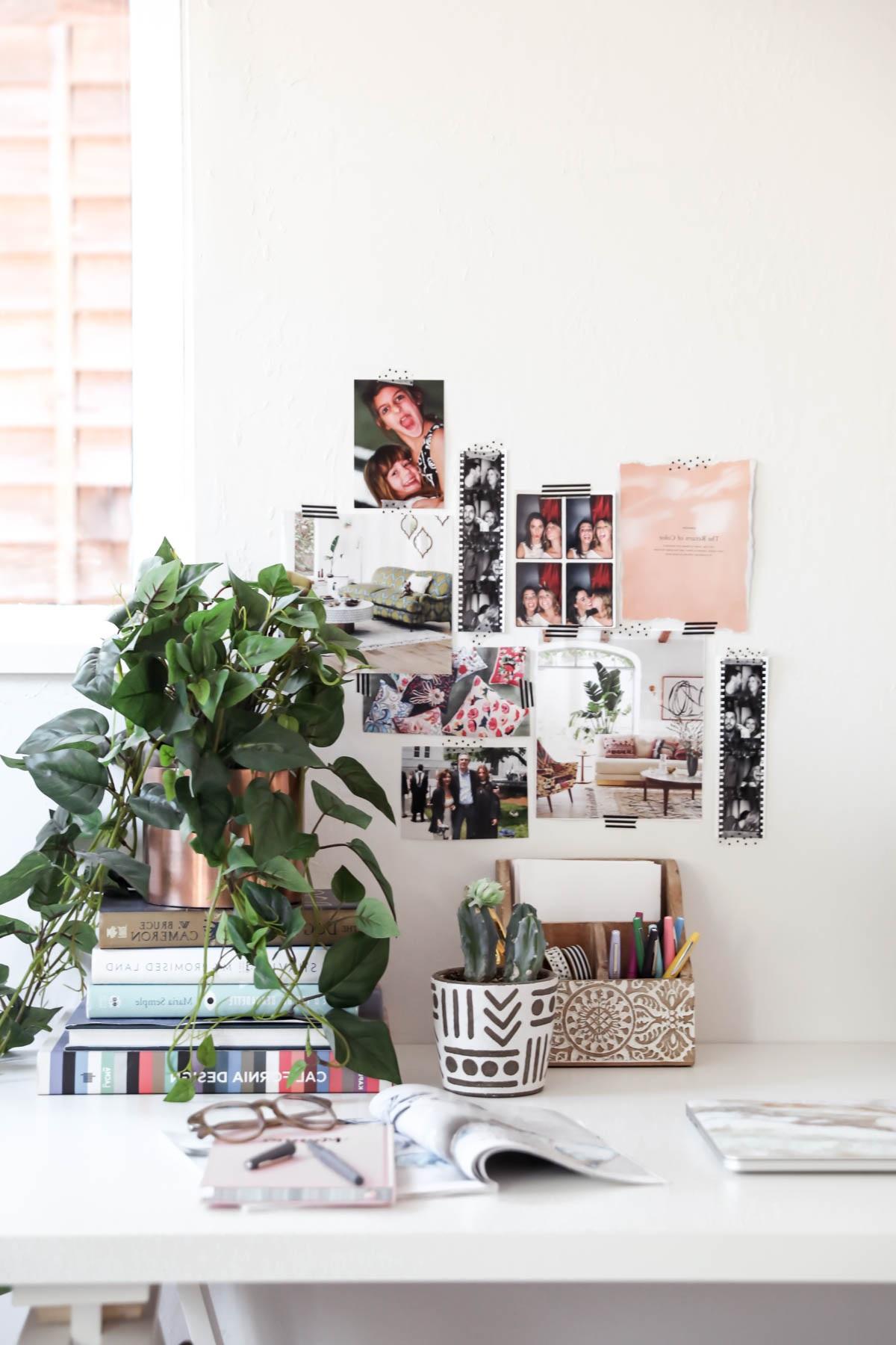 Décorer le bureau au boulot avec style.