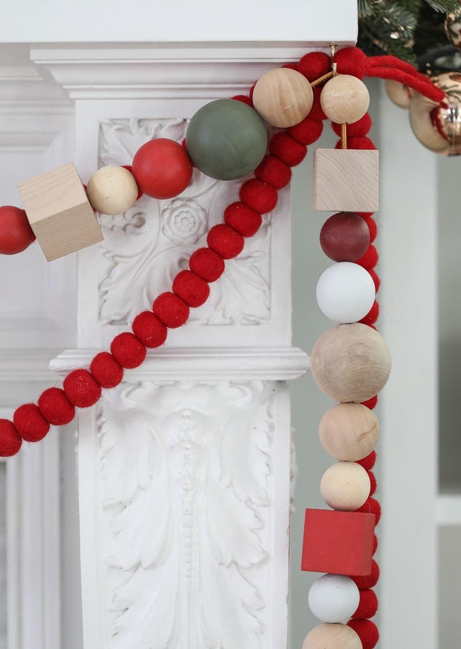 Décoration de Noël DIY.