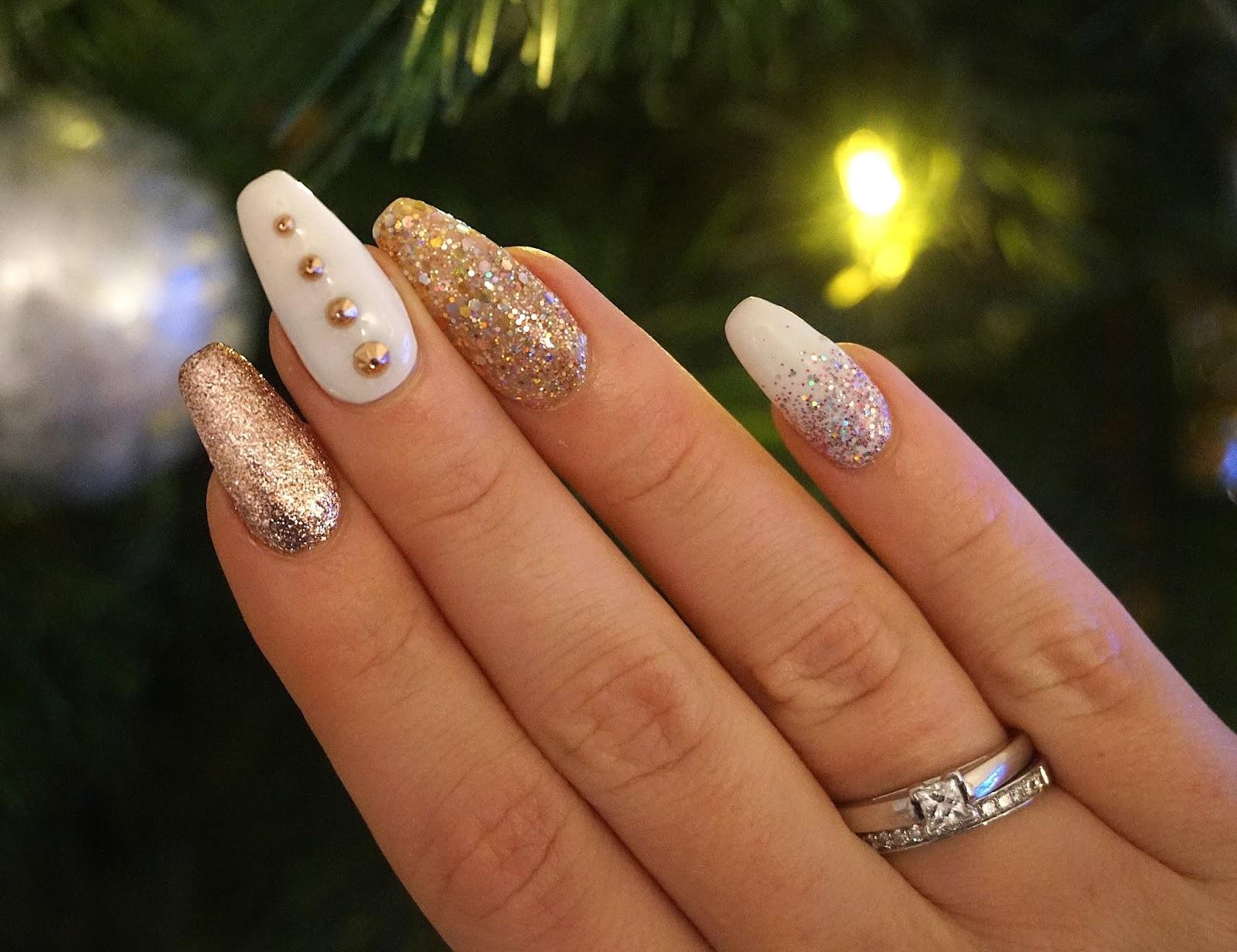 Manucure festive.
