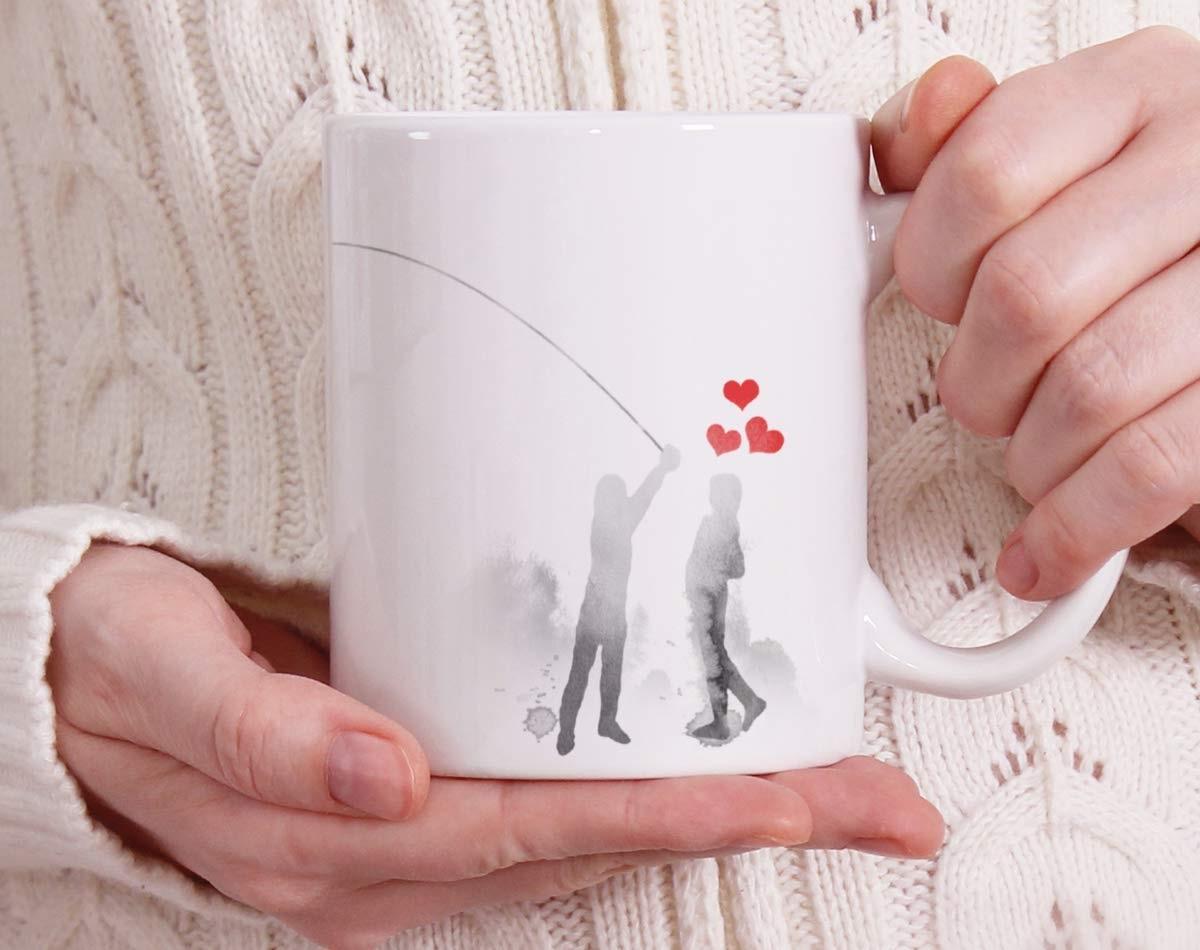 Cadeau de Saint-Valentin poir femme.