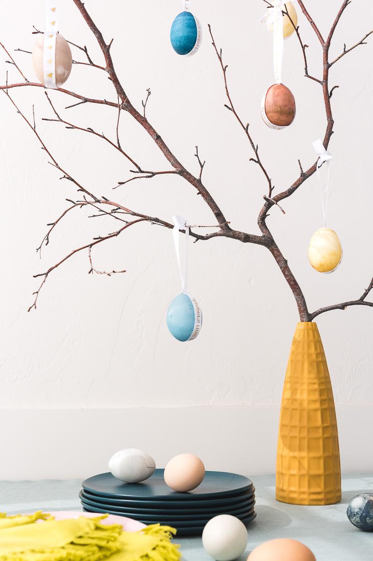 Arbre de Pâques magnifique.