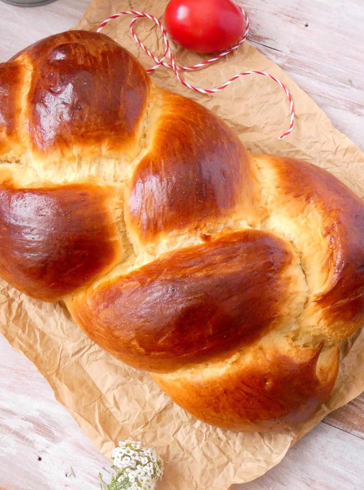 Brioche de Pâques.