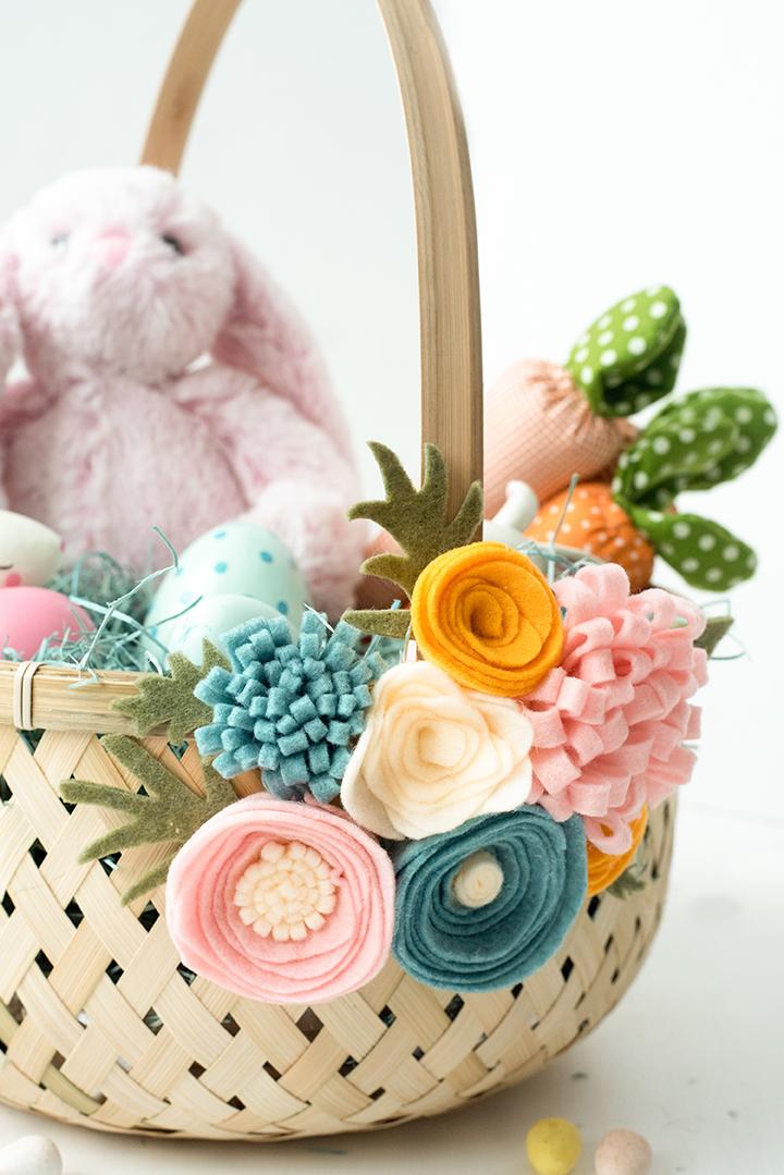Panier de Pâques.