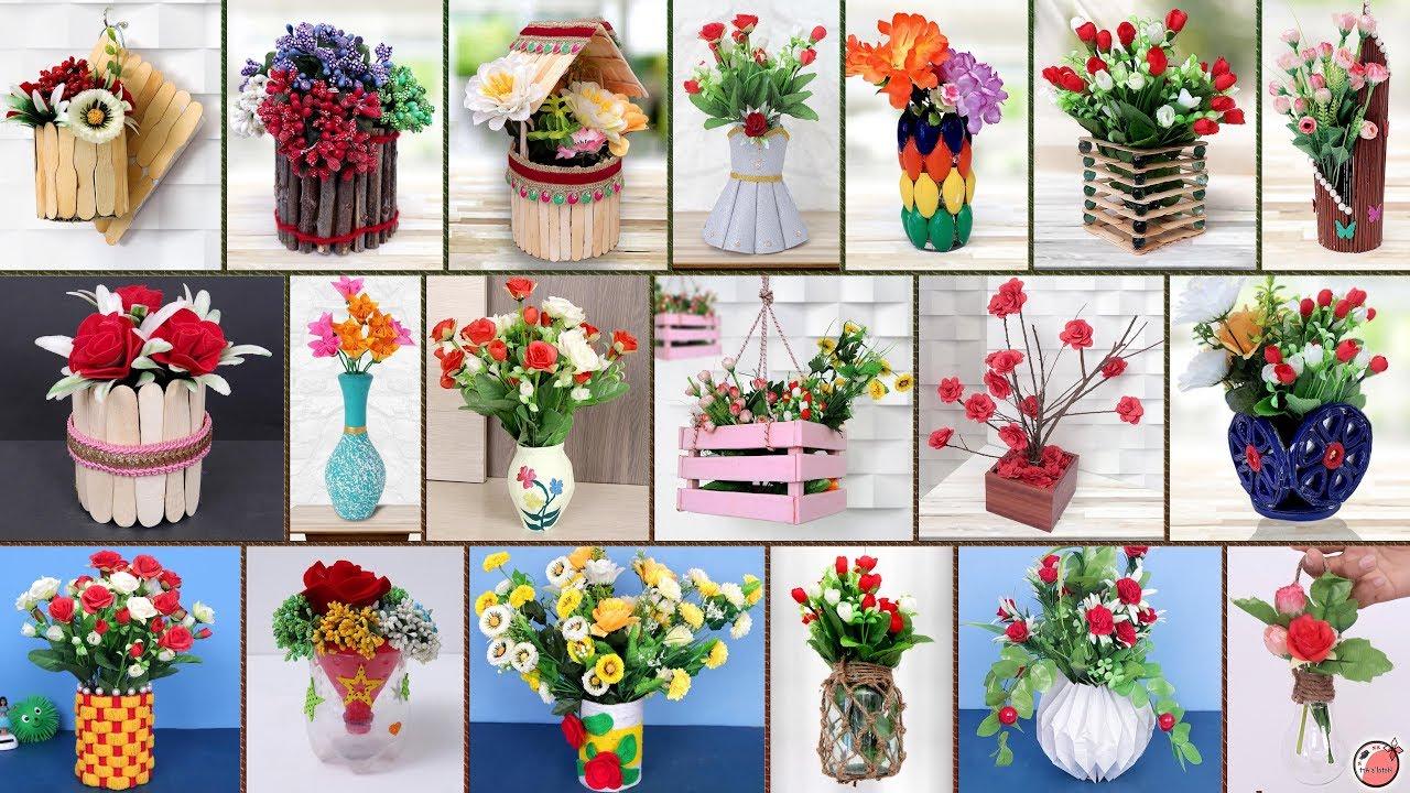 10 idées mignonnes de création avec pot de fleur
