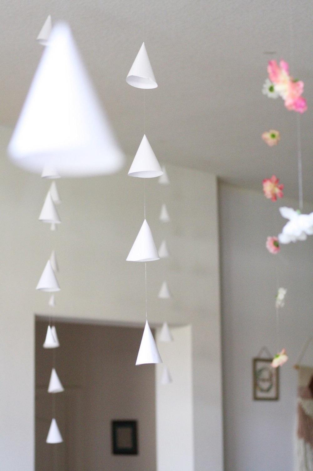 Guirlande en papier DIY.