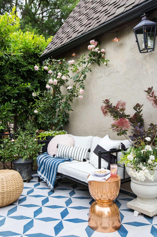 Aménagement de terrasse.