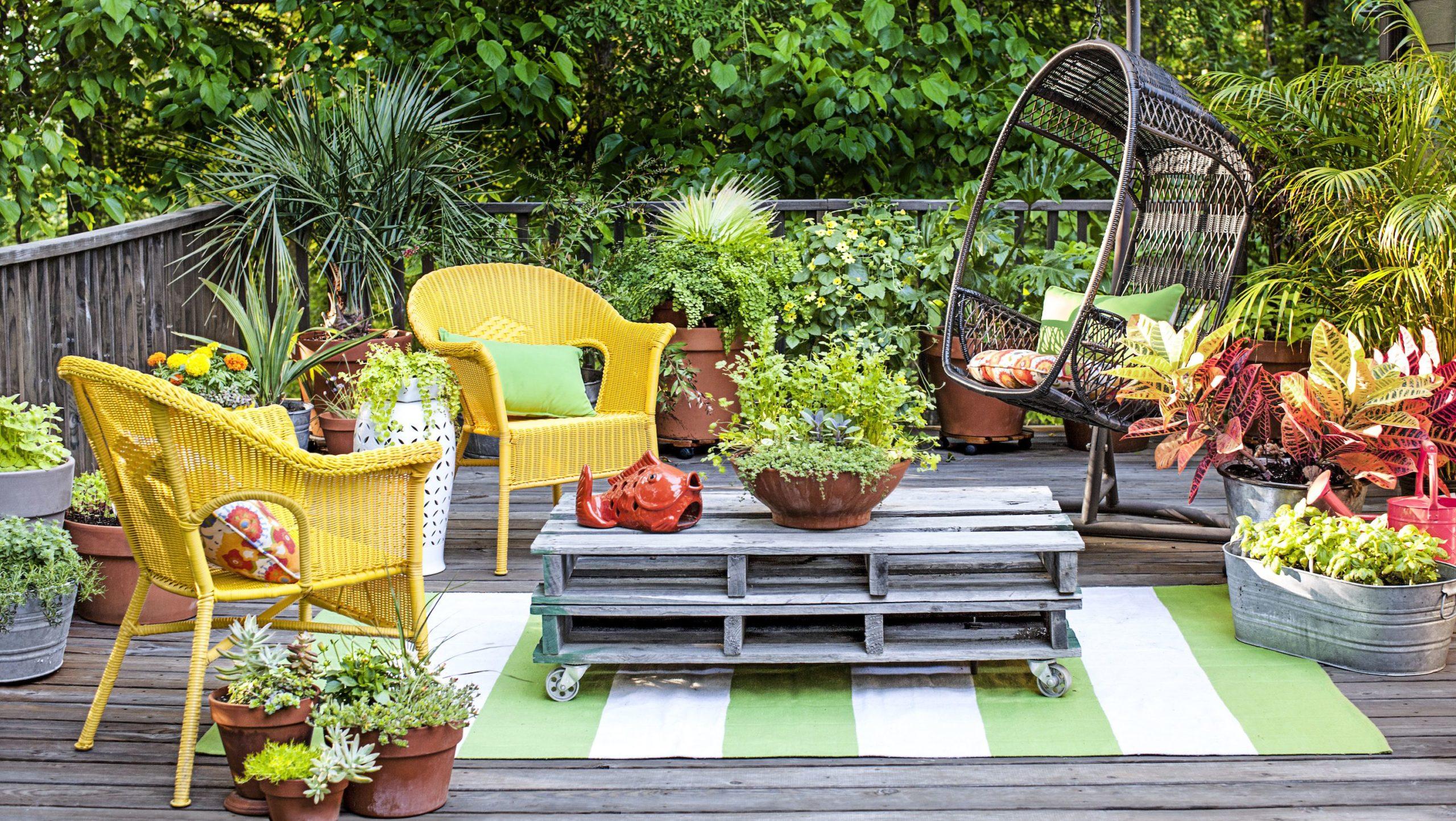 Voici comment aménager un petit jardin.
