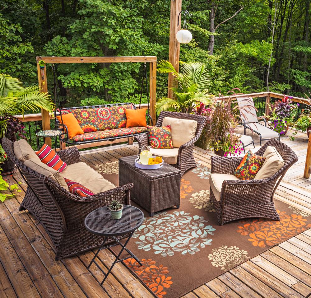 Idées pour votre salon de jardin.