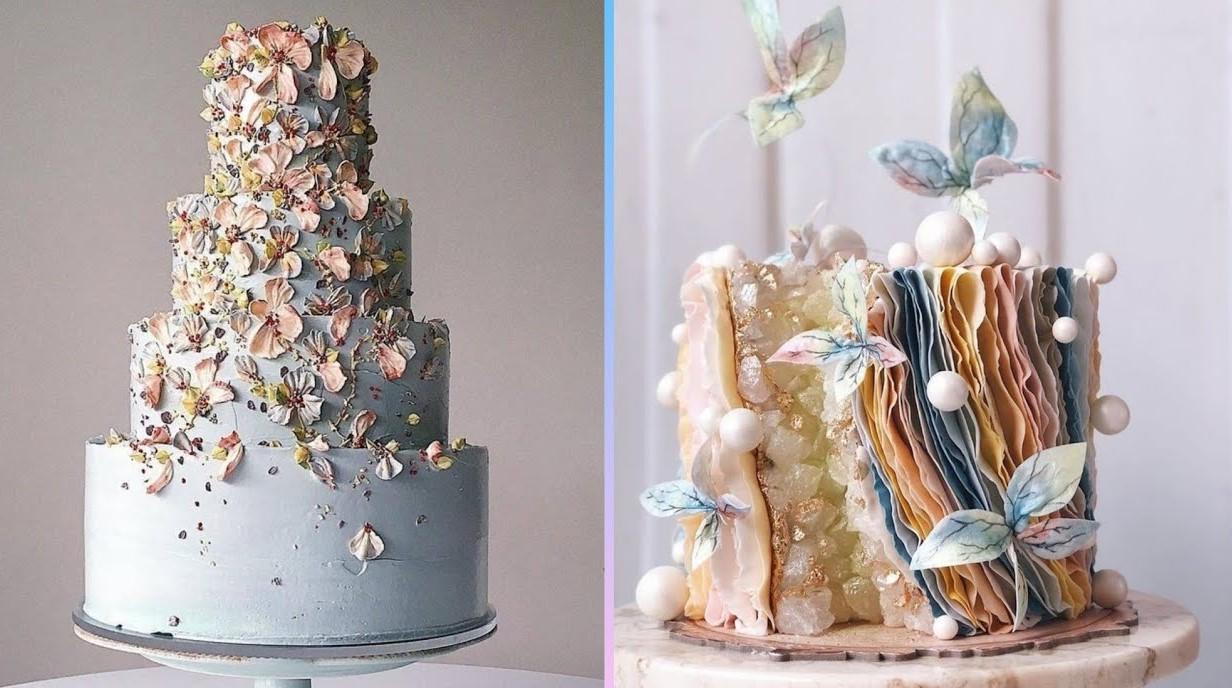 Gâteau de mariage parfait.