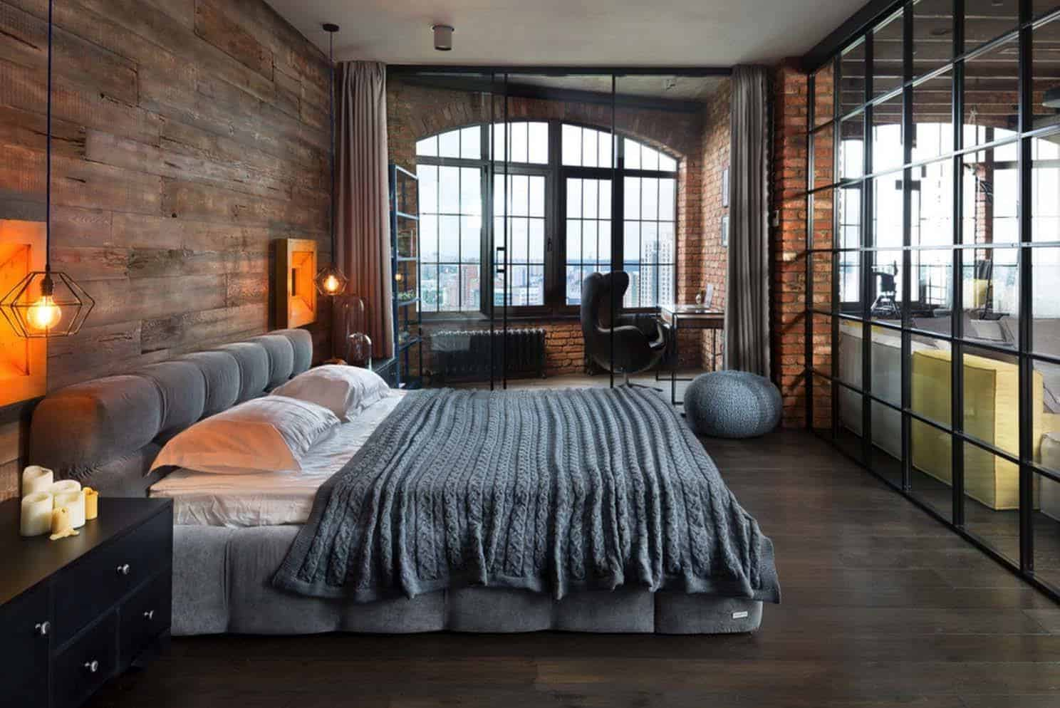 Style industriel cocooning.