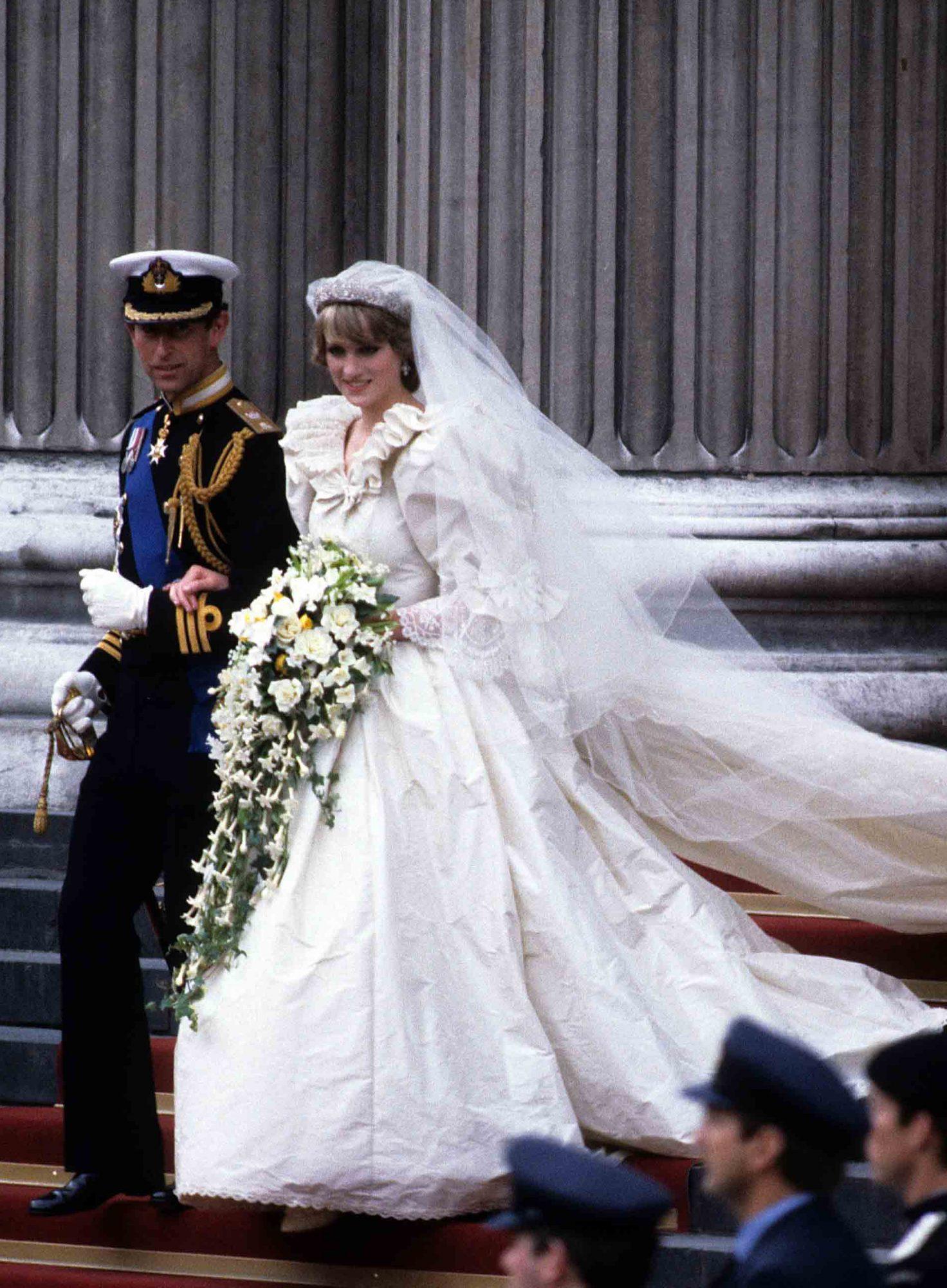 La princesse Diana et le prince Charles.