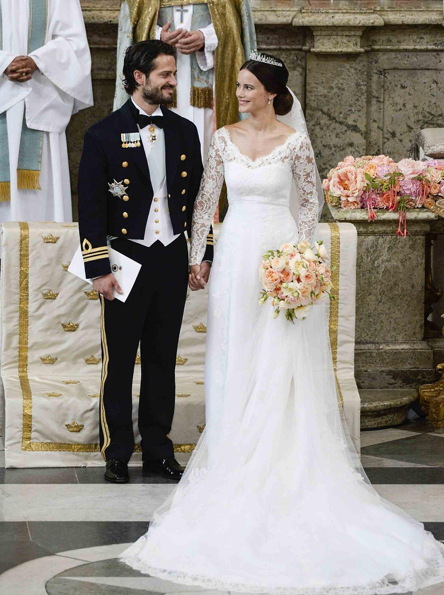 Le prince Carl Philip de Suède et Sofia Hellqvist.