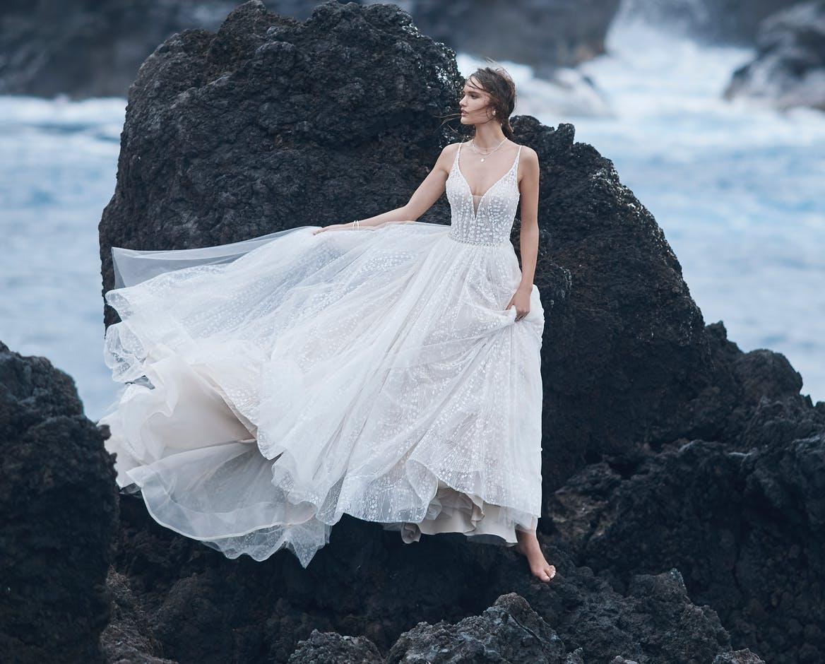 Robe de mariée princesse.