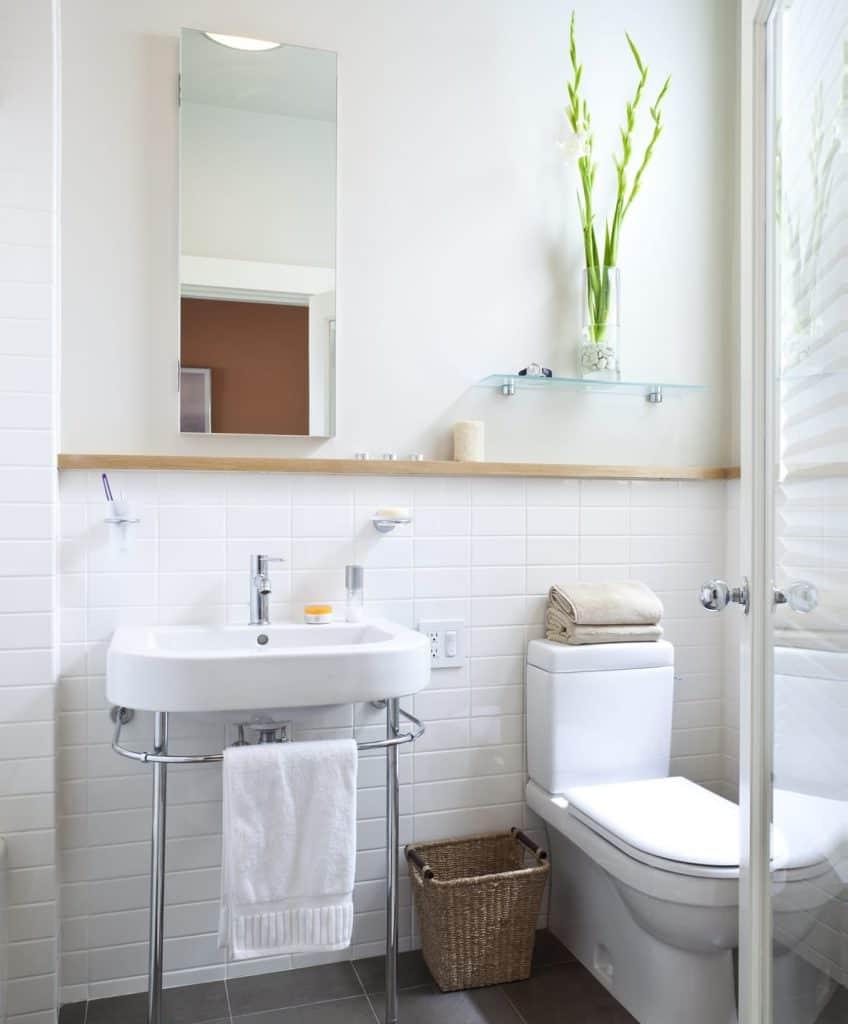 Idées déco de toilettes.