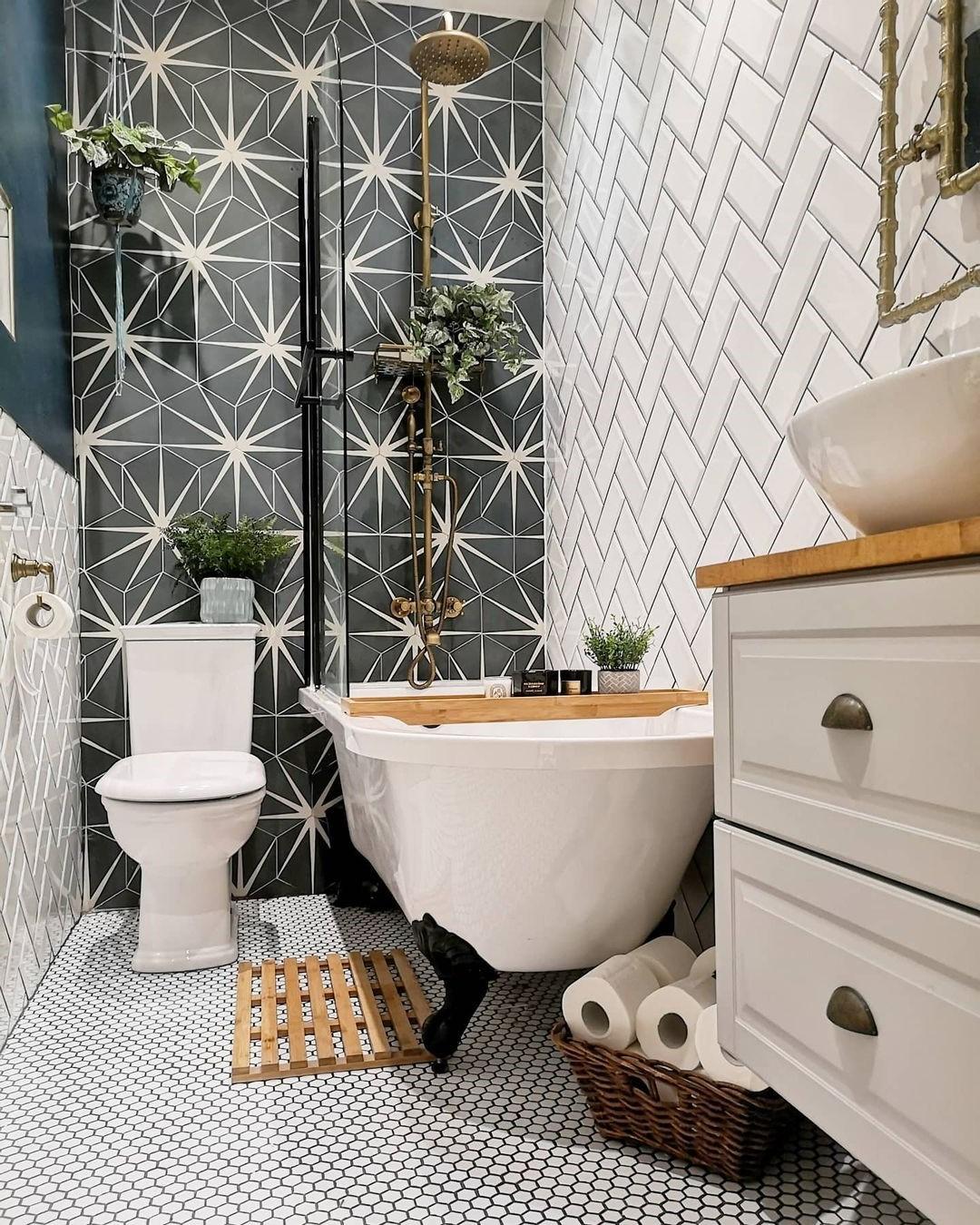Idées pour la conception d'une salle d'eau.
