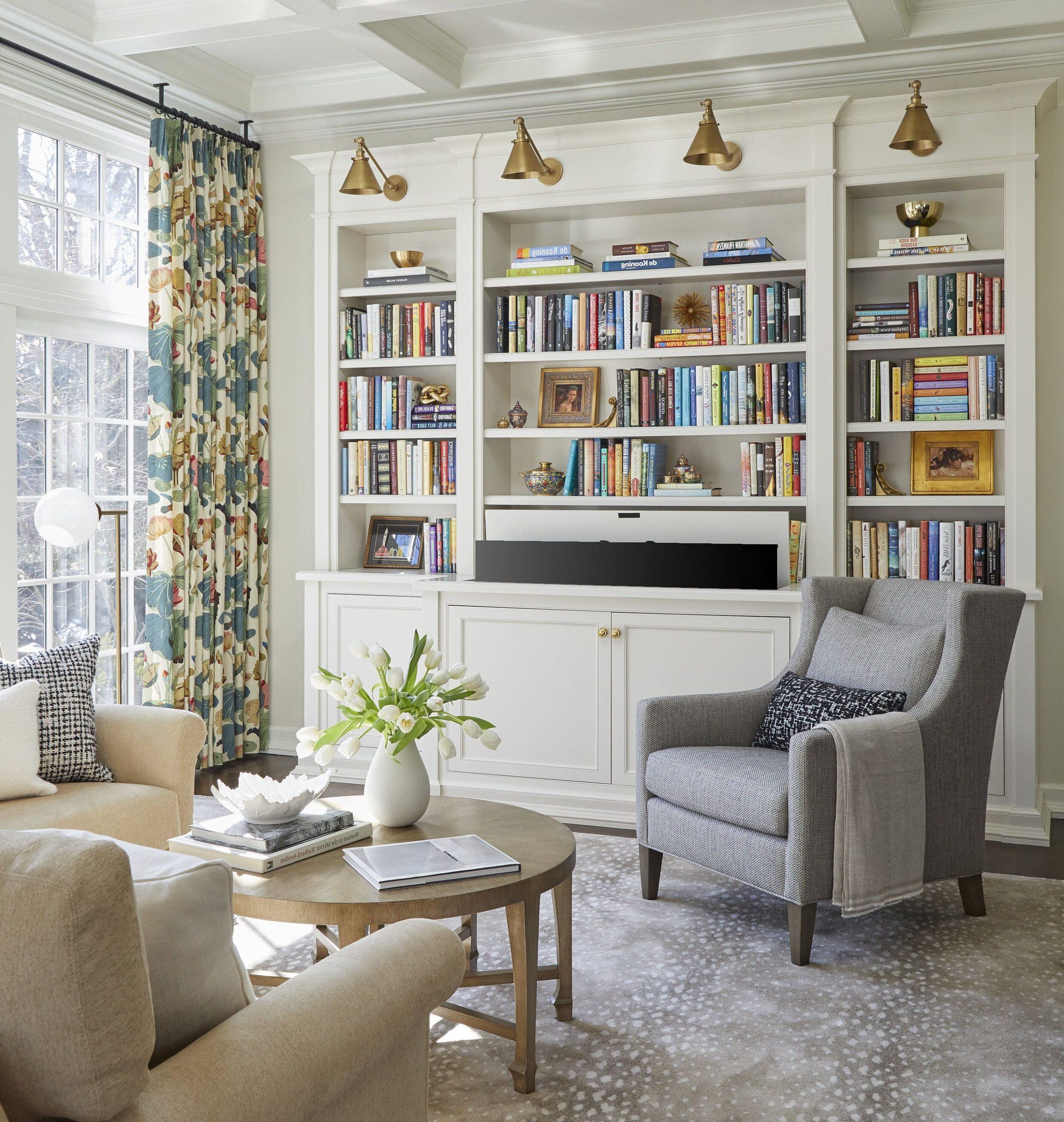 Étagère bibliothèque en bois.